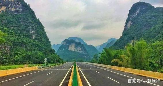 中国最美高速公路,广西合那高速公路